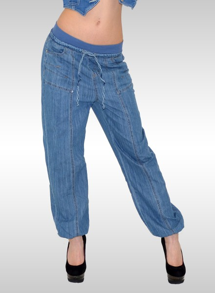 Damen Jeans Haremshose