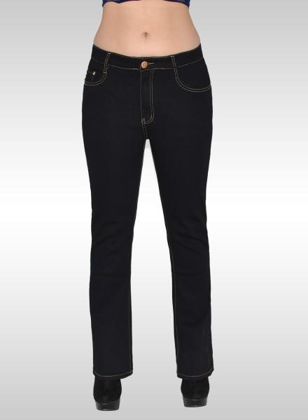Schwarze jeans damen 46