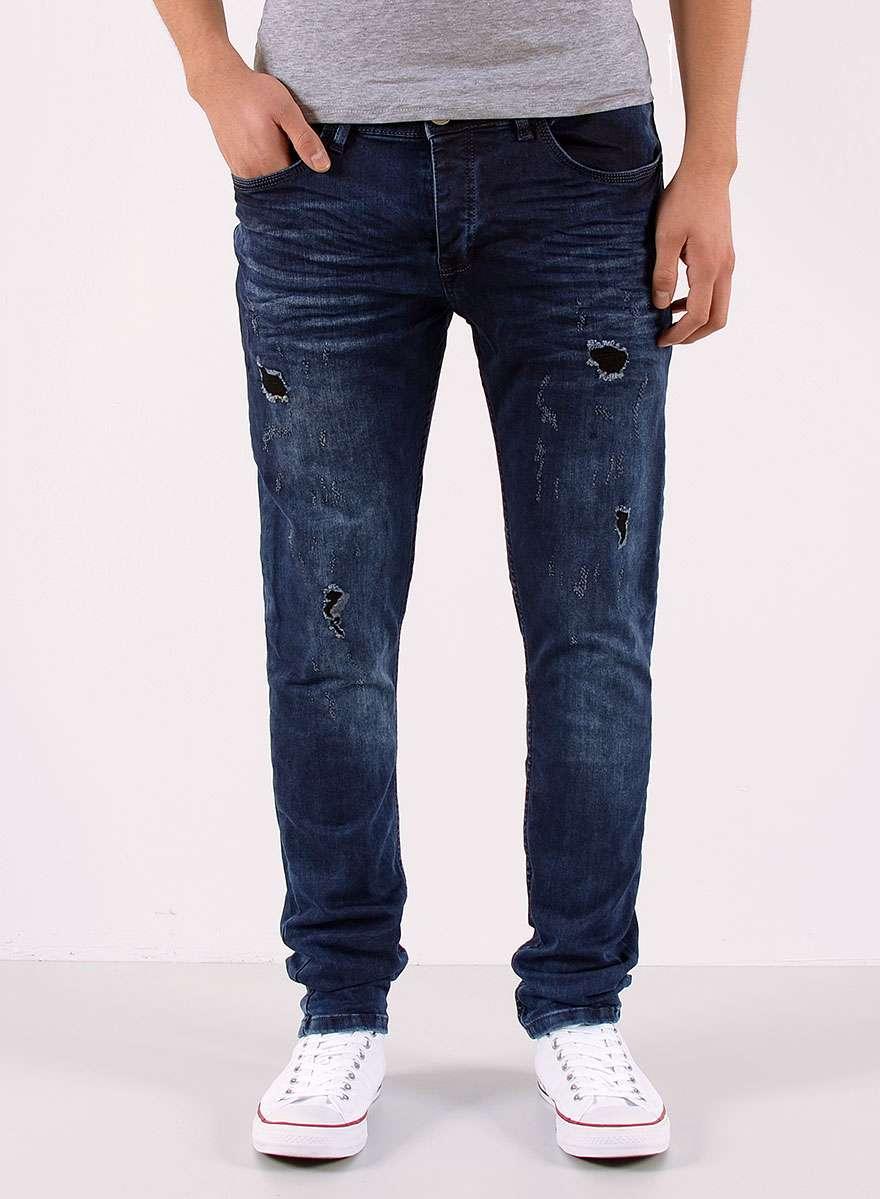 jeans destroyed herren