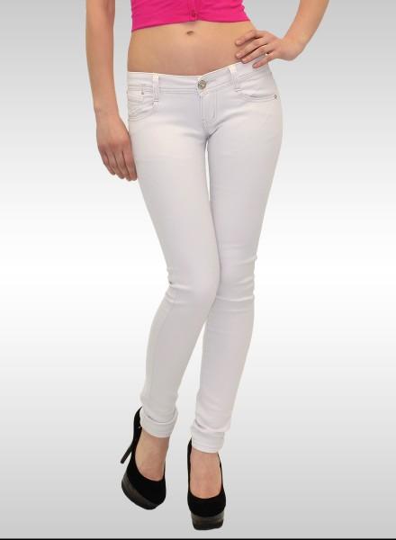Damen Skinny Jeans in weiss
