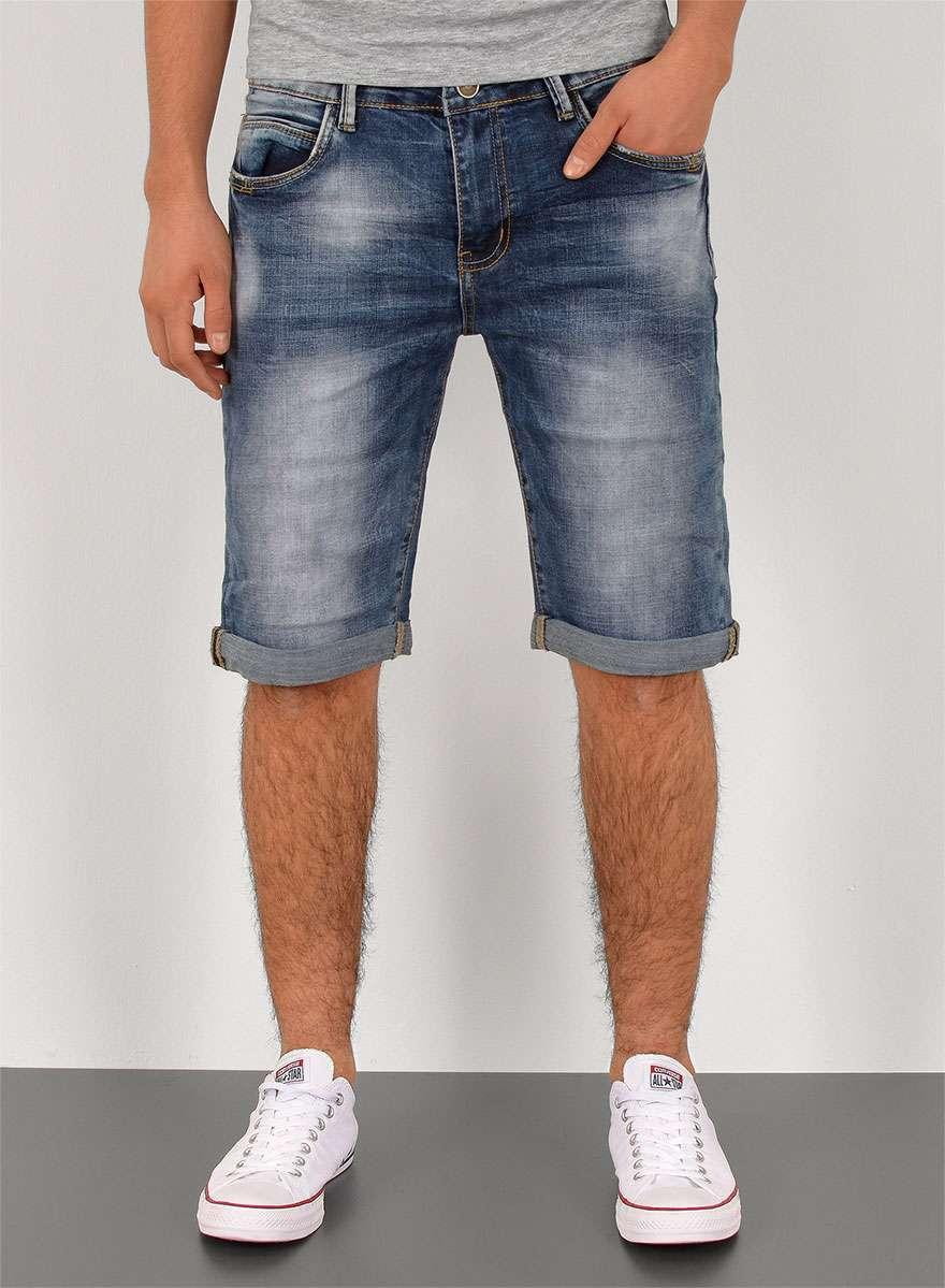 Herren Kurze Bermuda Hosen Jeans Shorts 80wPnOk