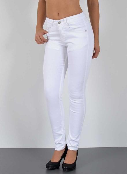 fdb53af27590f5 Damen Skinny Jeans Hose Übergrößen weiß, Plus Size Jeans Damen ...