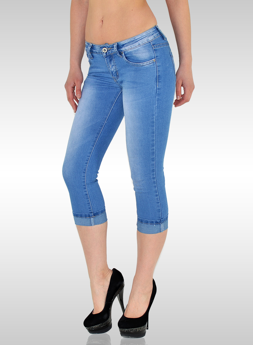damen capri jeans hose damen capri hose damen capri jeans bayramo bayramo onlineshop. Black Bedroom Furniture Sets. Home Design Ideas
