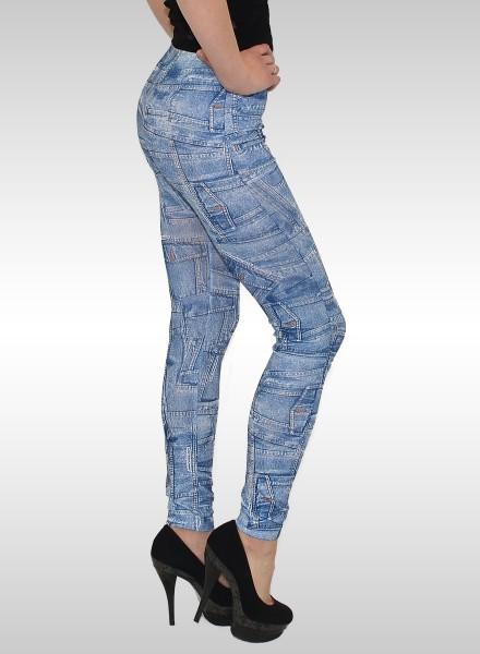 Damen Leggings in Jeansoptik