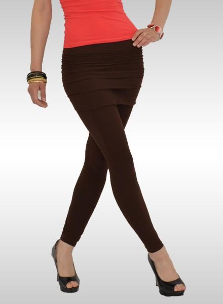 Damen Leggings mit Minirock