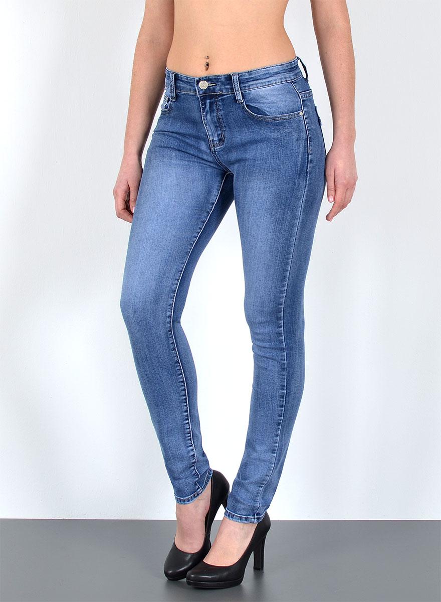Damen Basic Jeans Skinny Fit Jeans in großen Größen bei ...