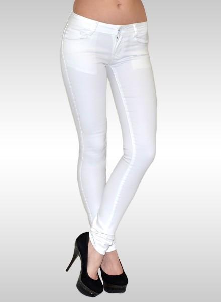 Damen Skinny Jeans weiß