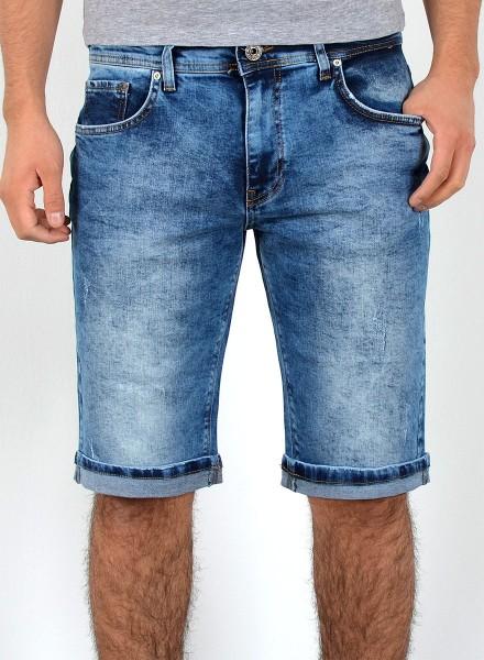 17e5f66663fae Herren kurze Jeans Shorts bis Übergröße