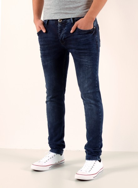 Herren Basic Slim Fit Jeans