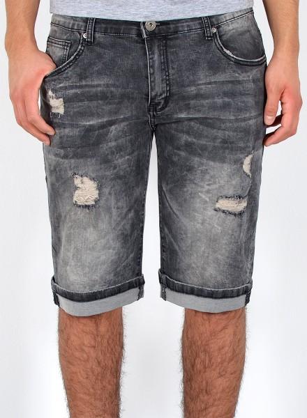 Herren Jeans kurze Shorts Destroyed Look große Größen