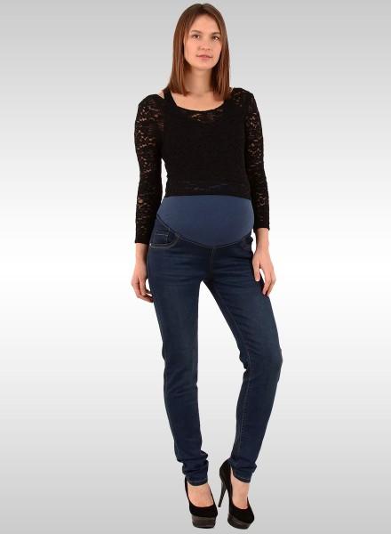 Damen Jeans Umstandshose für Schwangere
