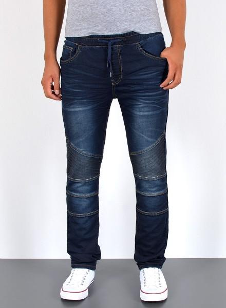 Herren Jeans Basic Slim Fit mit Gummizug