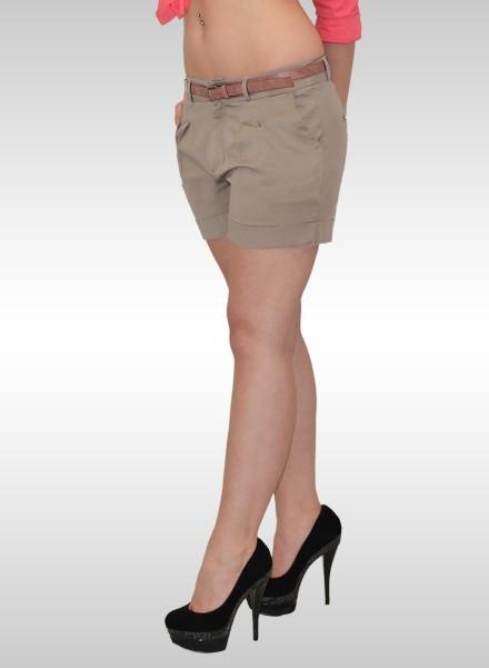 Damen kurze Chino Shorts