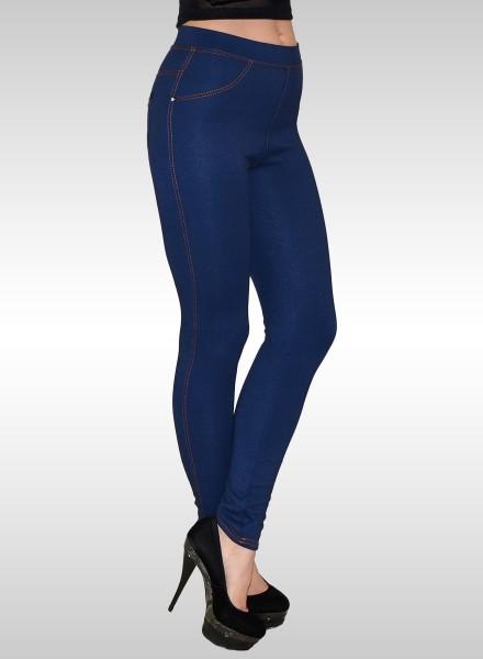 Damen Jeanslook Leggings bis Übergröße