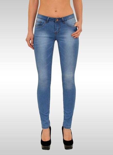 Damen Skinny Basic Jeans