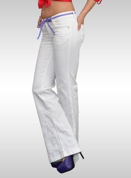 189bce1c3158cd Damen Jeans Bootcut günstig Jeans ab Größe 32 bis 42 weiße weisse ...