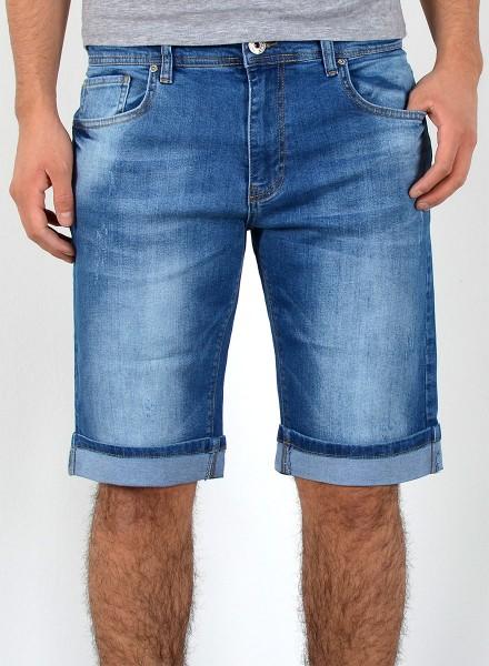 Herren Bermuda Jeans Shorts in großen Größen