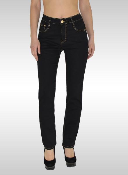 5c46d511f5f1f3 Damen Jeans Hose Übergrößen, Günstige High Waist Plus Size ...