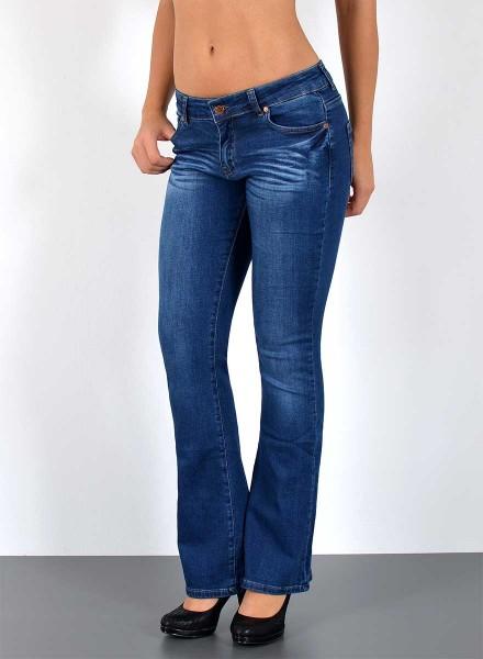 Damen Bootcut Jeans bis Übergröße