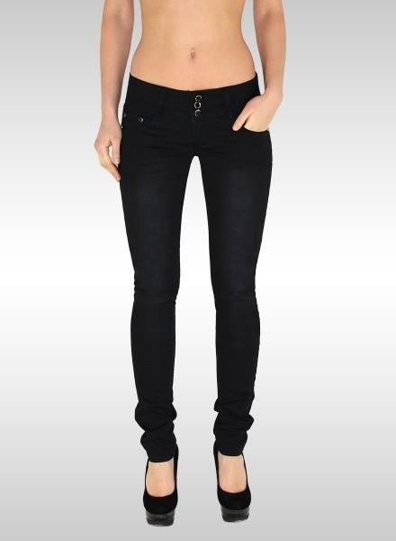 Damen Skinny Jeans schwarz