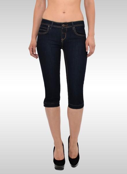 Damen Capri Jeans Hose
