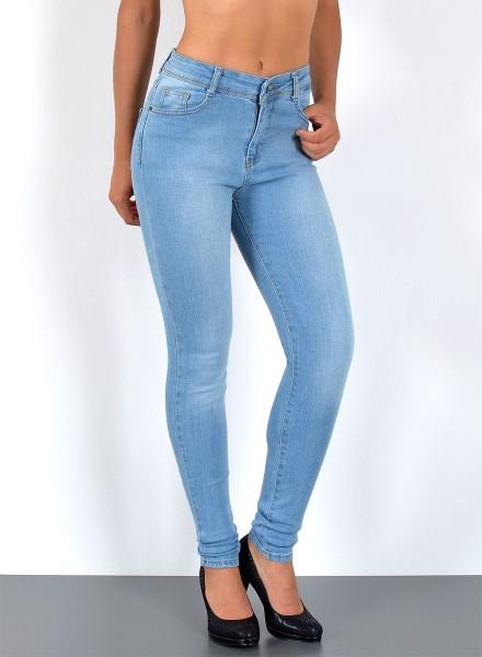Damen Skinny Jeans bis Übergröße