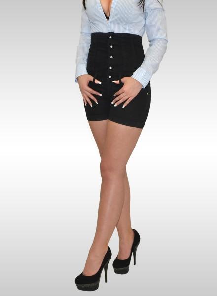 Damen Corsage Jeans Shorts