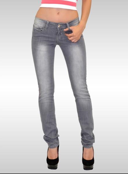 Slim Fit Jeans Damen, Damen Jeans grau, bayramo   bayramo Onlineshop 1f0ad13fcc