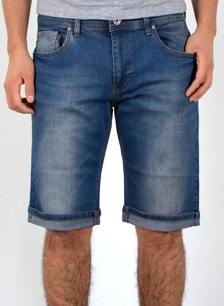 Herren Basic Jeans Shorts bis Übergröße