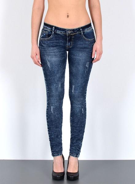 Damen Skinny Jeans mit leichten Risse