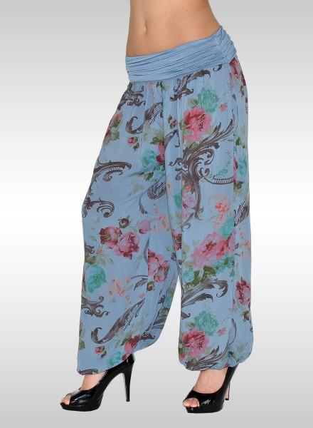 b4537c4539 Damen Blumen Sommerhose, Damen Pumphose, Damen Freizeithose, bayramo ...