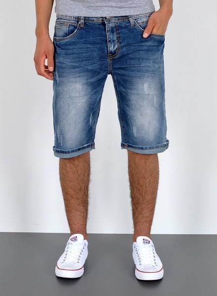 Herren kurze Jeans Shorts