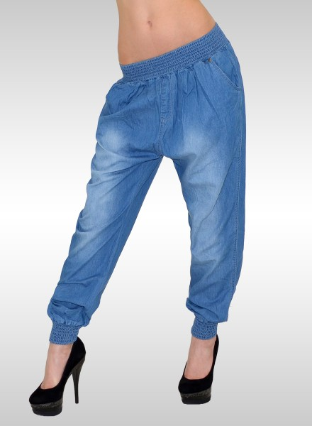 Damen Jeans-Pumphose