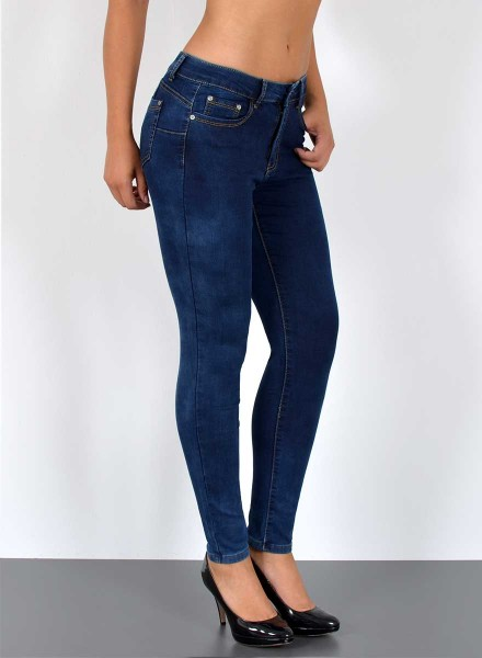 Damen Skinny Jeans Push up Style