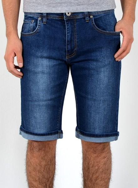 Herren Jeans Shorts dunkelblau große Größen
