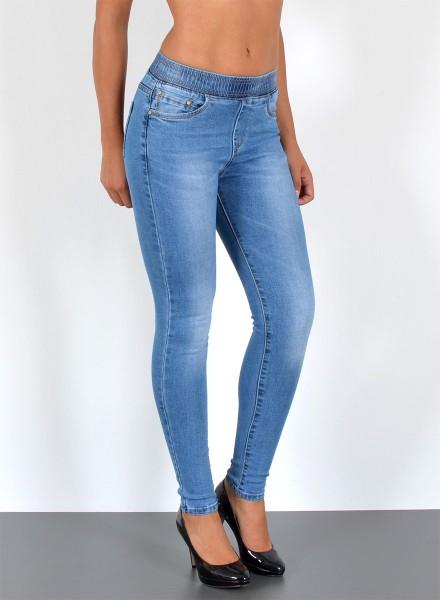 7fa3bc8c3e8aee Damen Skinny Jeans mit Gummibund, bayramo | bayramo Onlineshop