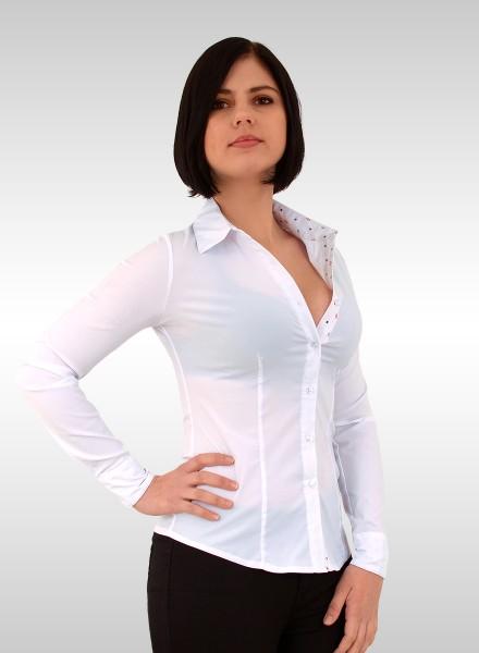 Damen Popeline Hemd