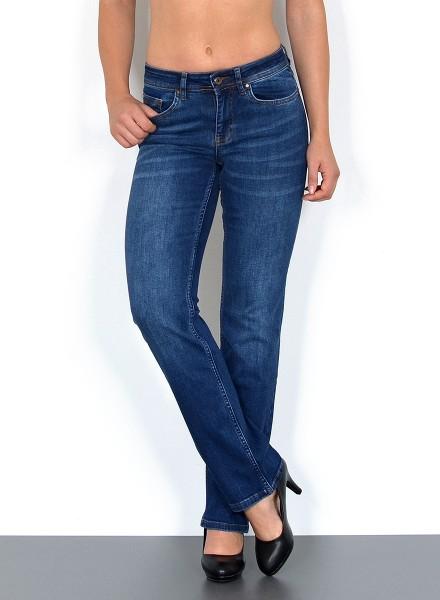 ESRA Damen gerade Jeans bis Übergröße