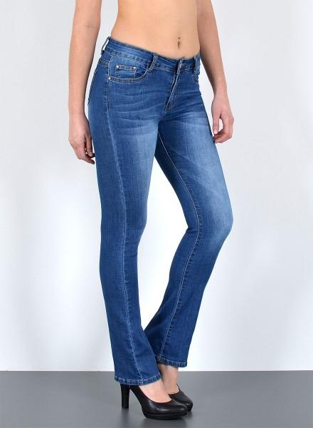 Damen Bootcut Jeans