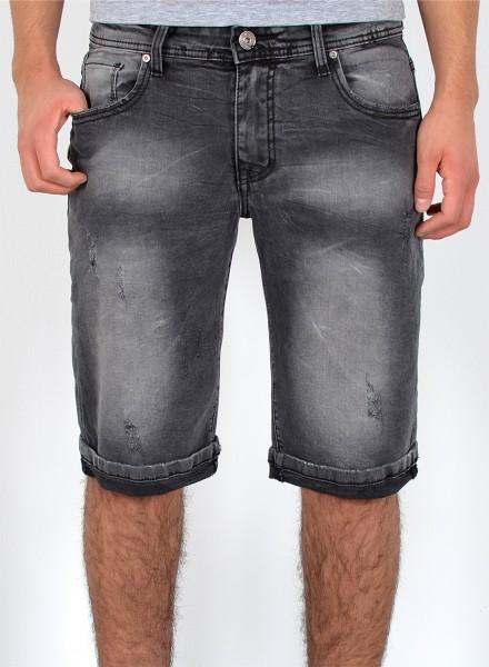 Herren Jeans Shorts Risse bis Übergröße