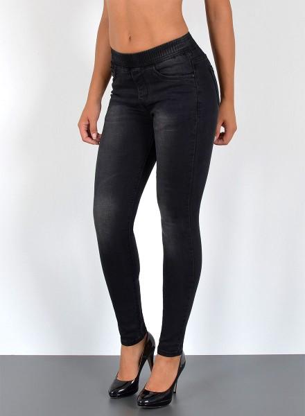 de30107c9279c5 Damen Skinny Jeans mit Gummibund, bayramo | bayramo Onlineshop