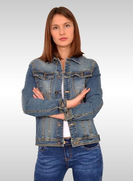 Damen jeansjacke collegejacke damen collegejacke for Jeansjacke damen lang