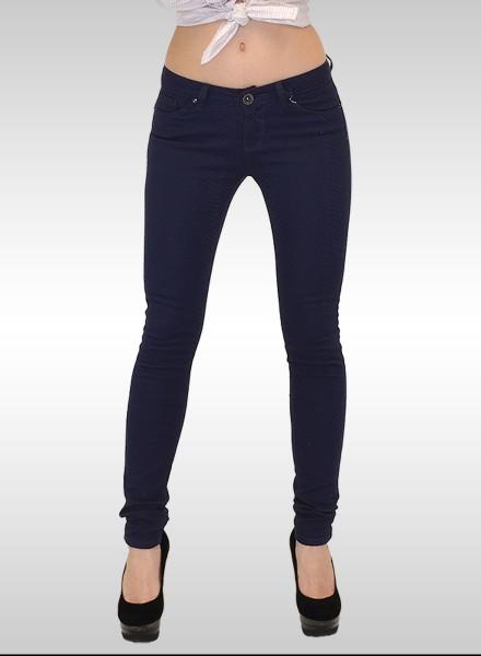 Damen Skinny Jeans Schlangenoptik