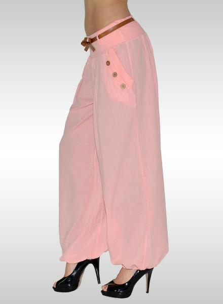 Damen Pluderhose Sommerhose