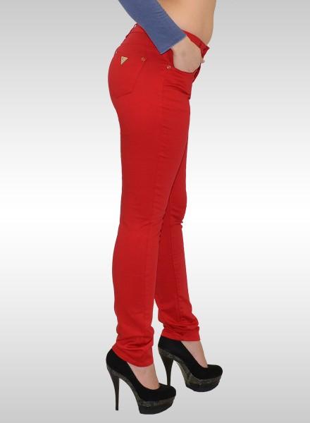 ESRA Damen Röhrenjeans Hosen bis Übergröße