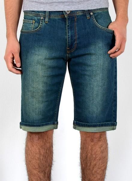 26b248ca690ed Herren Bermuda Jeans Shorts bis Übergröße