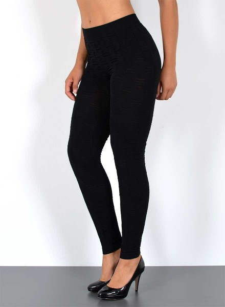 Damen Leggings mit Muster