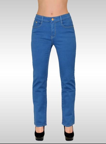 ESRA Damen Jeans Hose Übergröße