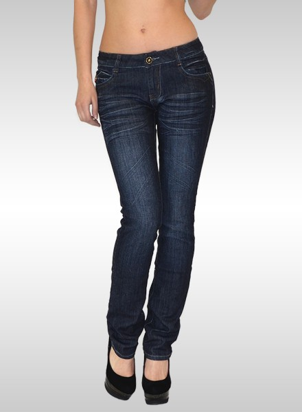 Damen Straigh Fit Jeans